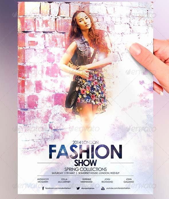 Fashion Show Flyers Template Elegant 16 Psd Flyers for Fashion Show & Promo – Desiznworld