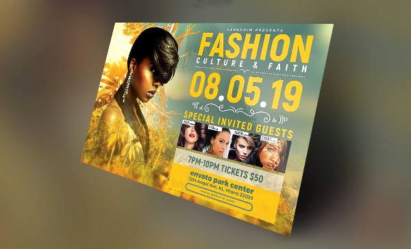 Fashion Show Flyers Template Fresh 16 Fashion Show Flyer Templates In Word Psd Ai Eps