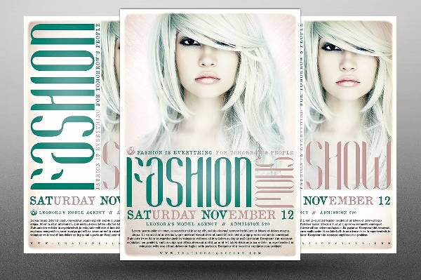 Fashion Show Flyers Template Inspirational 16 Fashion Show Flyer Templates In Word Psd Ai Eps