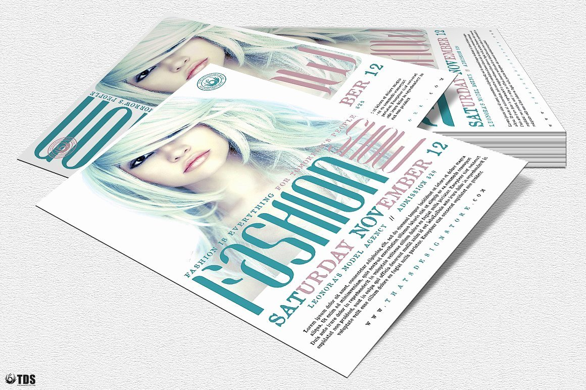Fashion Show Flyers Template Luxury Fashion Show Flyer Template V2