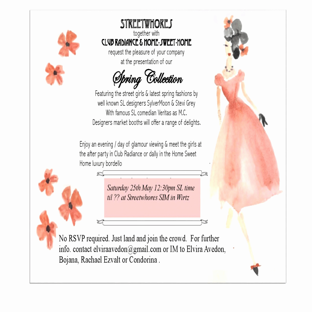 Fashion Show Programme Template Best Of Fashion Show Invitation Template Hashtag Bg