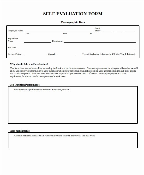 Feedback form Template Word Lovely Employee Evaluation form Example 13 Free Word Pdf