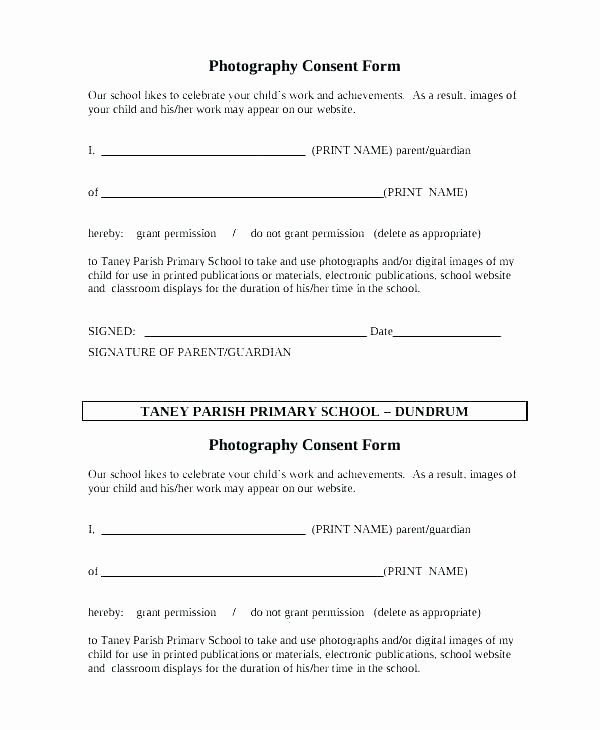 Field Trip form Template Beautiful Field Trip Release form Template Free Permission