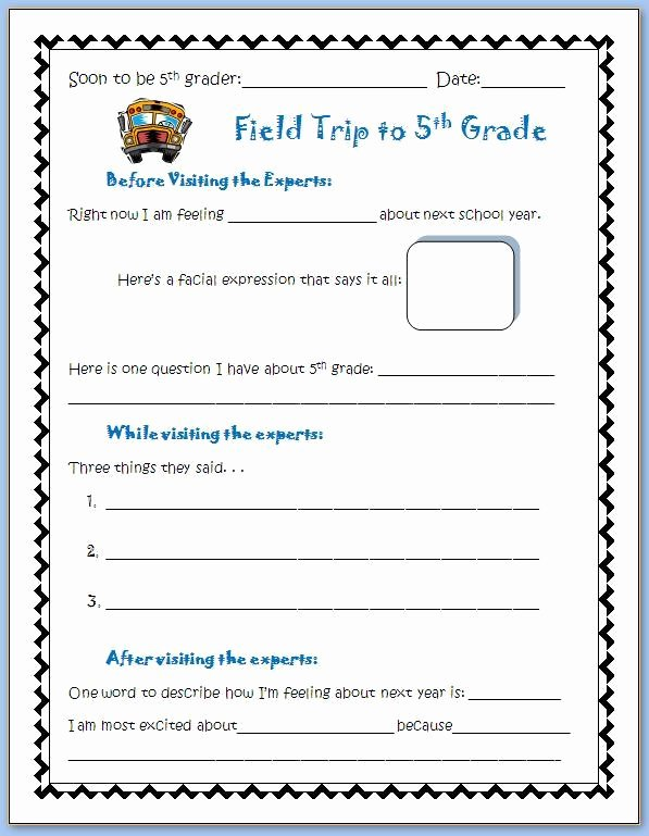 Field Trip form Template Inspirational Field Trip to Middle School the Middle School Counselor