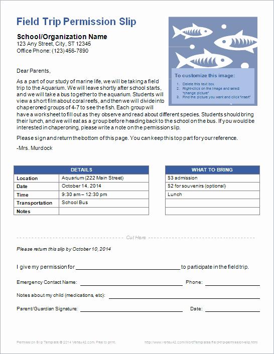 Field Trip Letter Template Inspirational Sample Letter to Parents Regarding Field Trip School