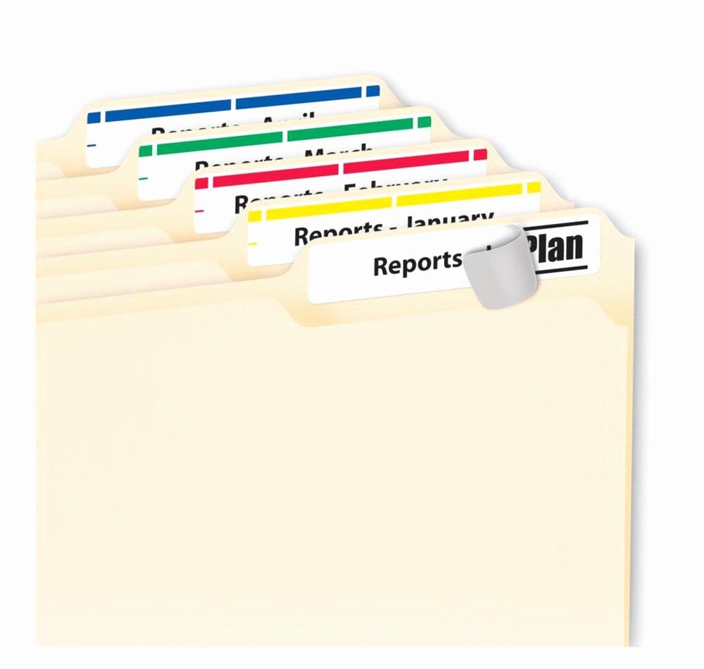 File Folder Tab Template Beautiful Amazon Avery Print or Write File Folder Labels for
