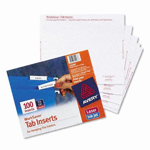 File Folder Tab Template Elegant Avery Printable Inserts for Hanging File Folders 1 5 Tab