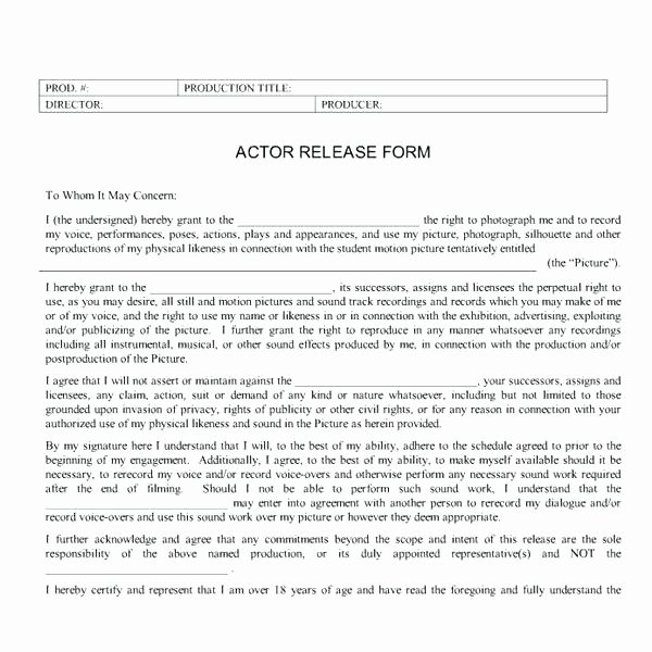 Film Producer Agreement Template Luxury Printable Executive Producer Agreement Template Meaning In