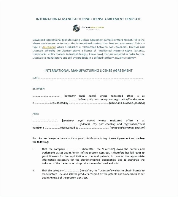 Film Production Contract Template Fresh Production Agreement Contract Template Video Music