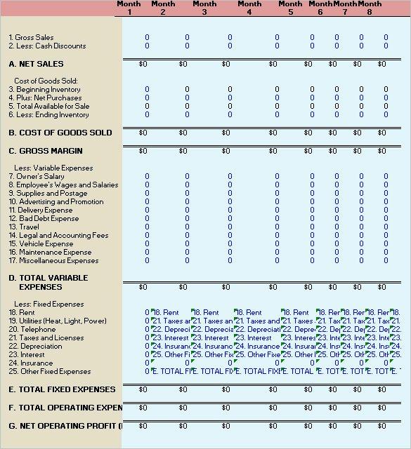 Financial Analysis Excel Template New 11 Financial Analysis Templates Ai Psd Googledocs