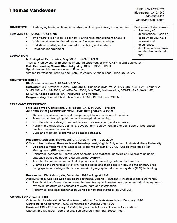 Financial Analyst Resume Template Luxury 11 Best Best Financial Analyst Resume Templates & Samples