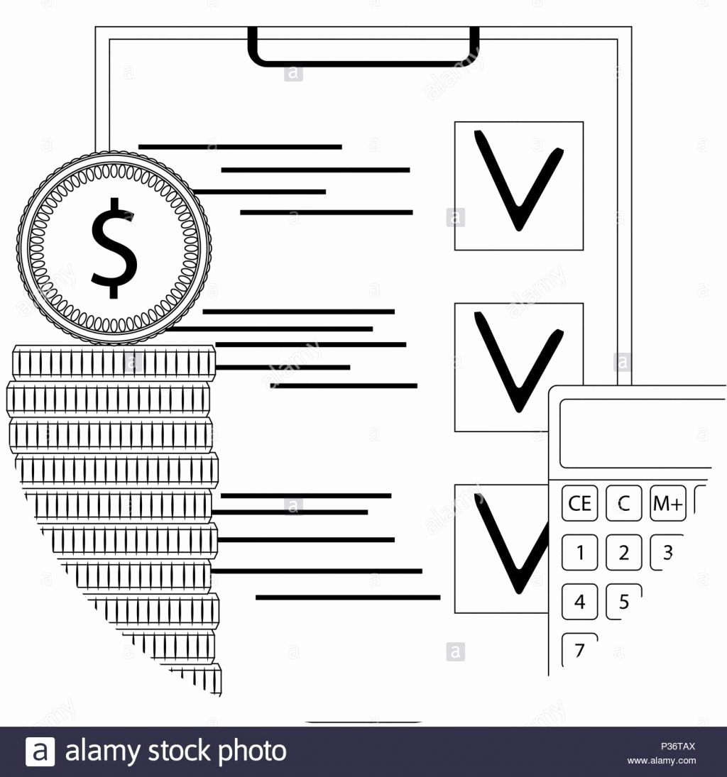 Financial Audit Checklist Template Fresh Financial Audit Line Icon Inspection Checklist Capital