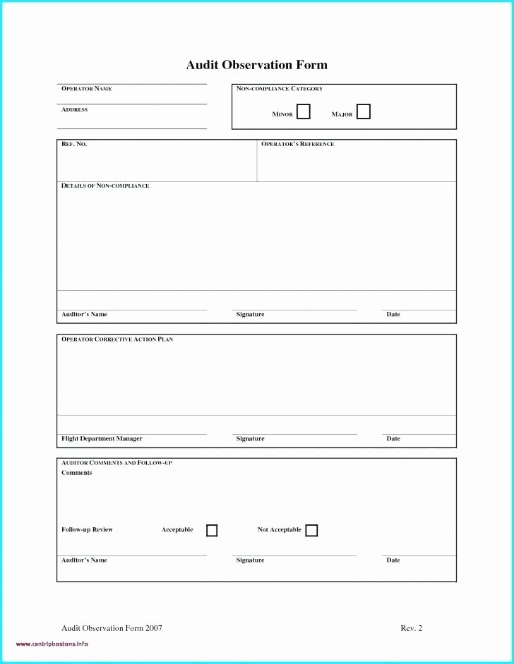 Financial Audit Checklist Template Inspirational Excel Checklist Template Printable Audit Internal