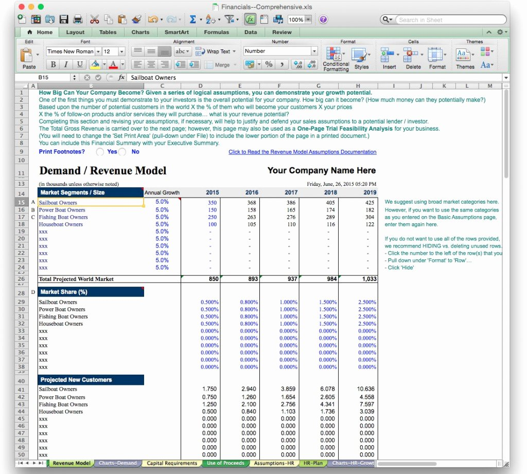 Financial Projection Template Excel Elegant Financial Projection Template Excel Laobing Kaisuo