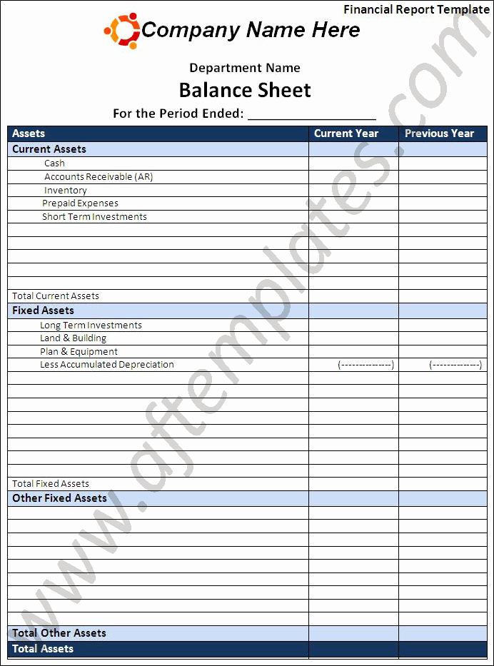 Financial Report Template Word Awesome Financial Report Template