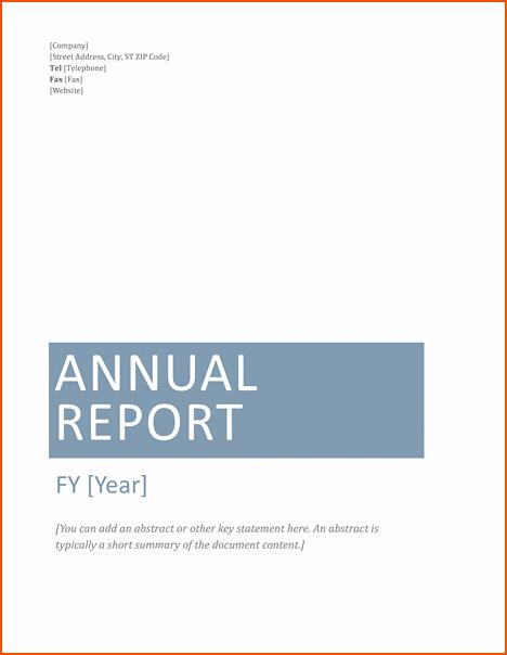 Financial Report Template Word Elegant 7 Microsoft Word Report Templates Bookletemplate