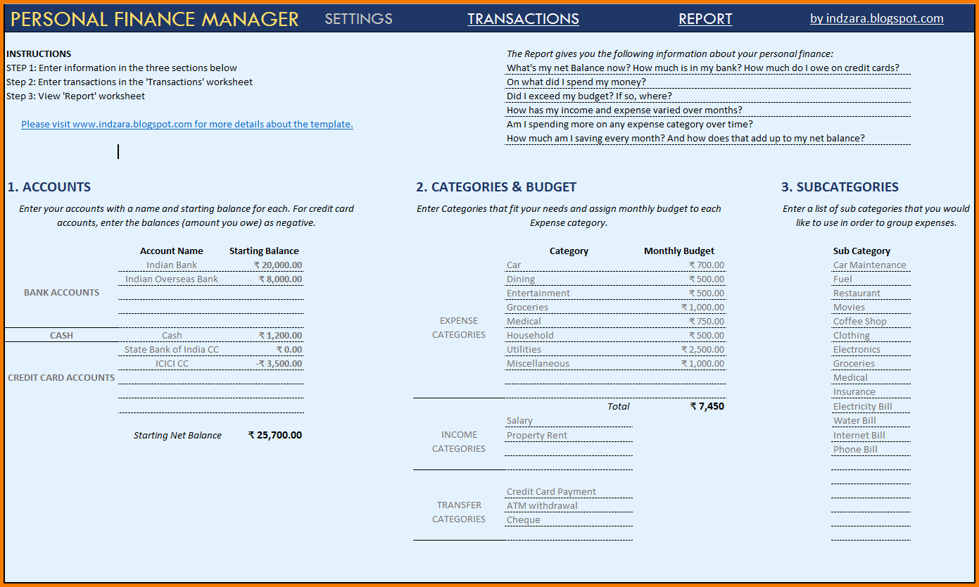 7 financial statement effects template