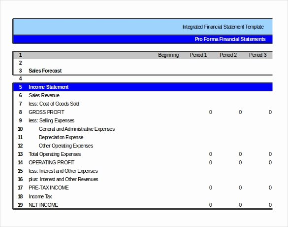 Financial Statement Template Xls New In E Statement Templates – 23 Free Word Excel Pdf