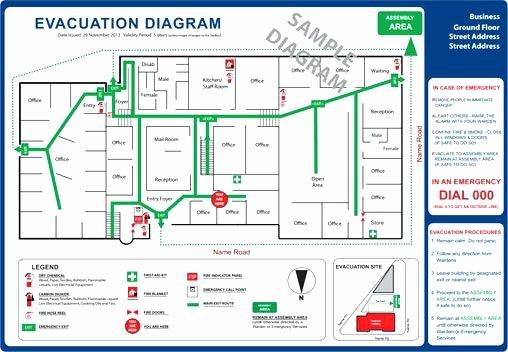 Fire Evacuation Plan Template Beautiful Church Emergency Evacuation Plan Template Personal Action