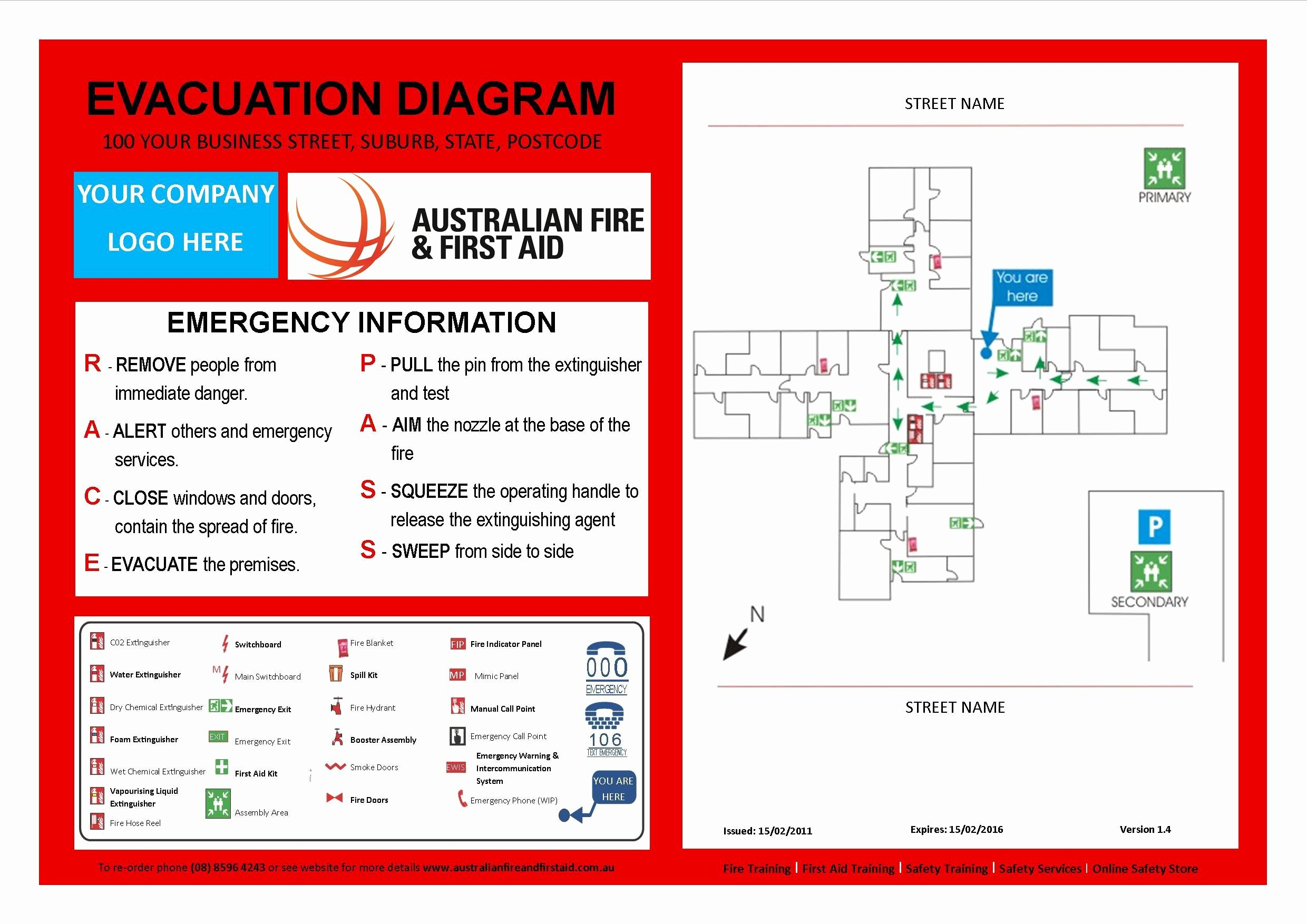 Fire Evacuation Plan Template Best Of Evacuation Plan Template Australia Templates Resume