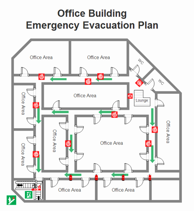 Fire Evacuation Plan Template Fresh Emergency Evacuation Plan