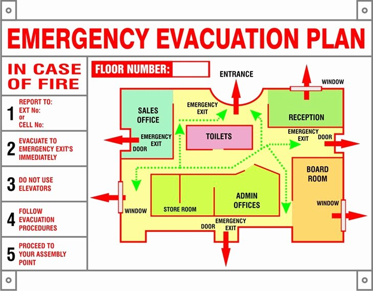 Fire Evacuation Plan Template New Supersound Security Johannesburg south Africa