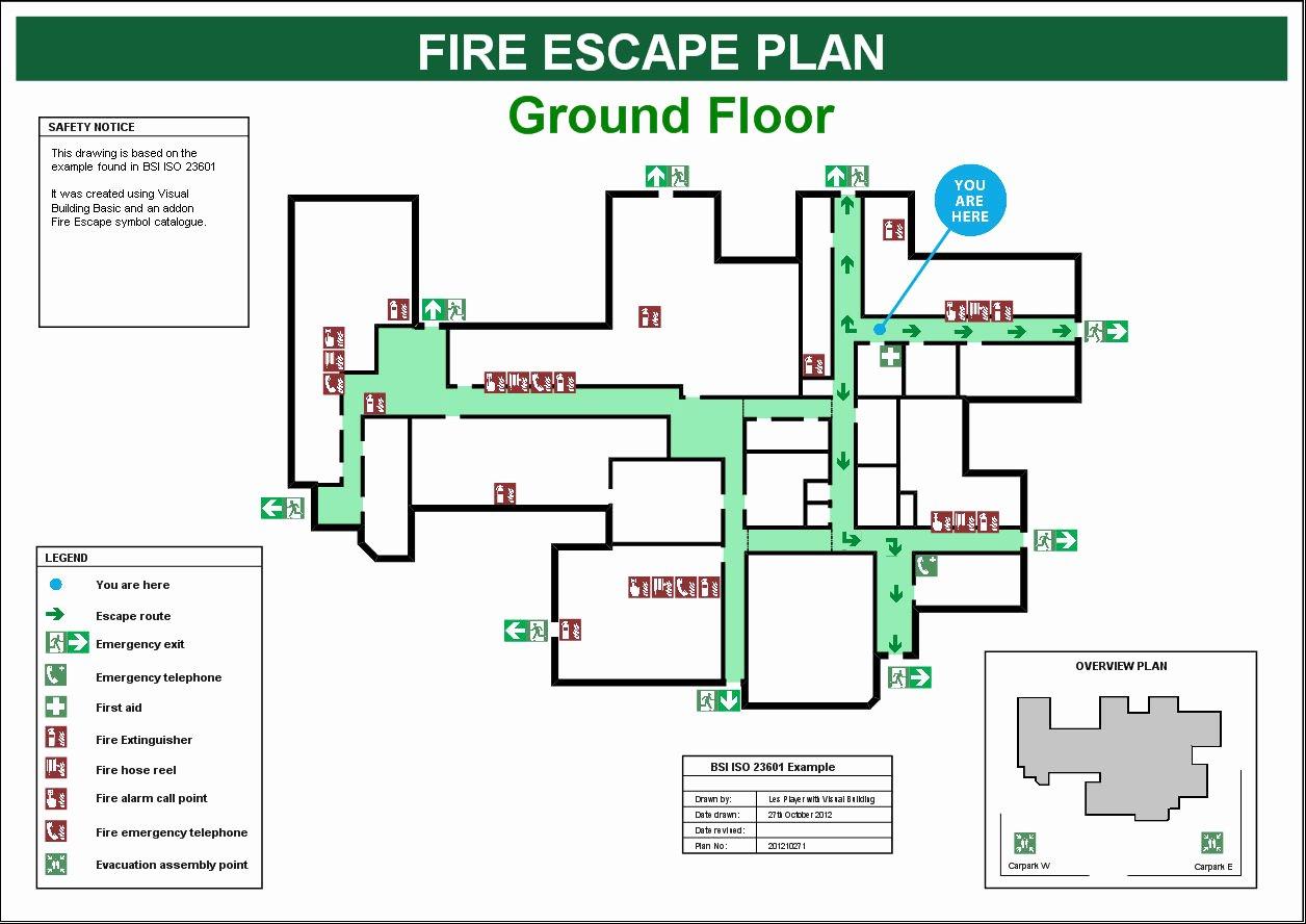 Fire Evacuation Plan Template Unique Fire Escape Plans