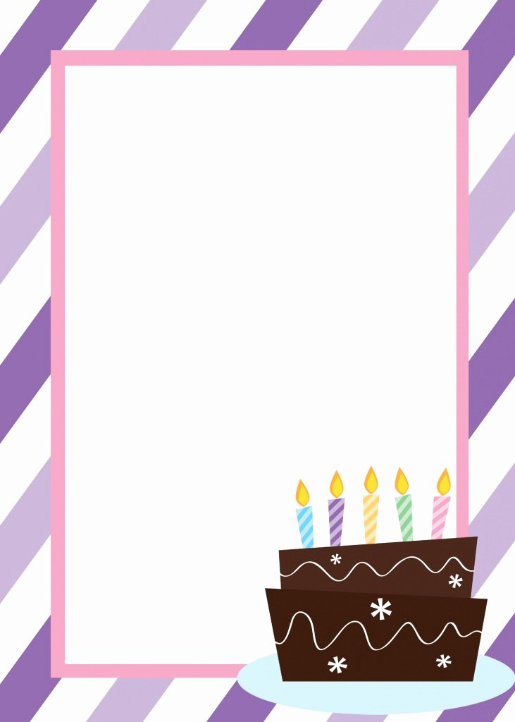 First Birthday Board Template Best Of Free Printable Birthday Invitation Templates