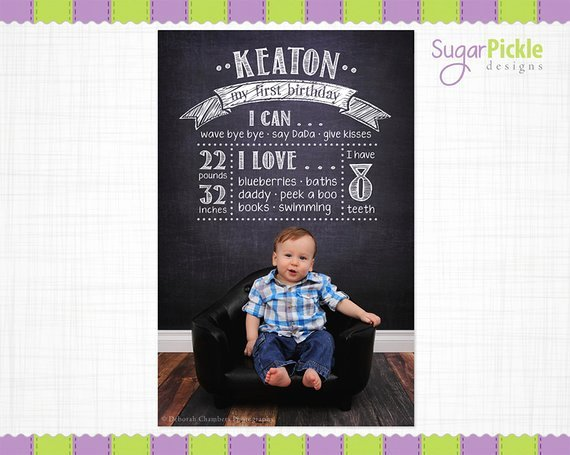 First Birthday Chalkboard Template Fresh Birthday Chalkboard Template Birthday Overlay First Birthday