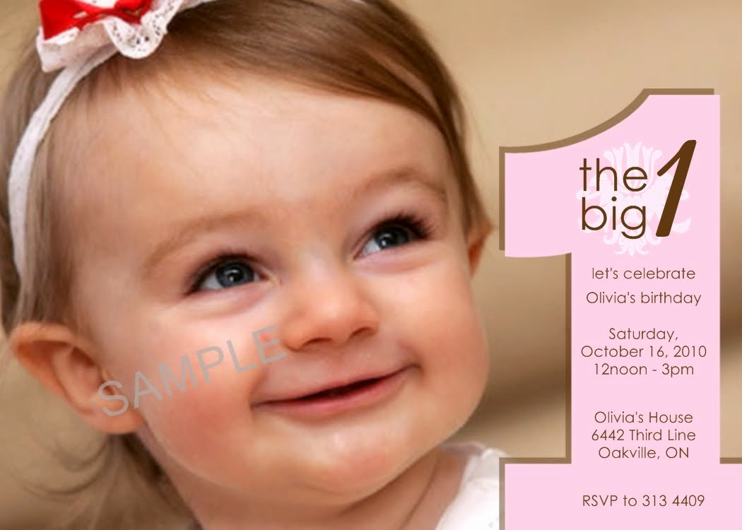First Birthday Invitation Template Best Of Cheap First Birthday Invitation Template – Free Printable
