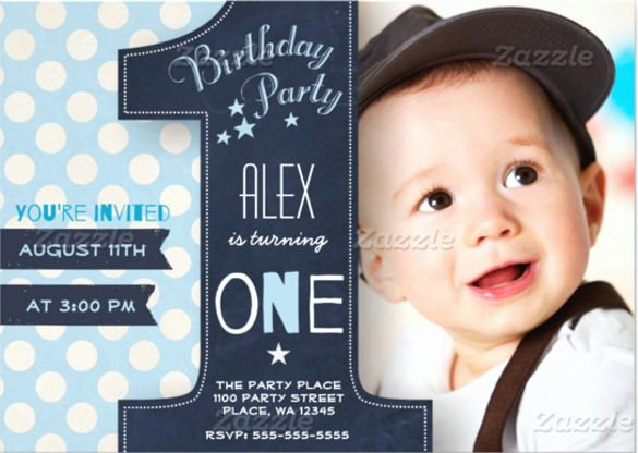 First Birthday Invitation Template Luxury 32 First Birthday Invitations Psd Vector Eps Ai