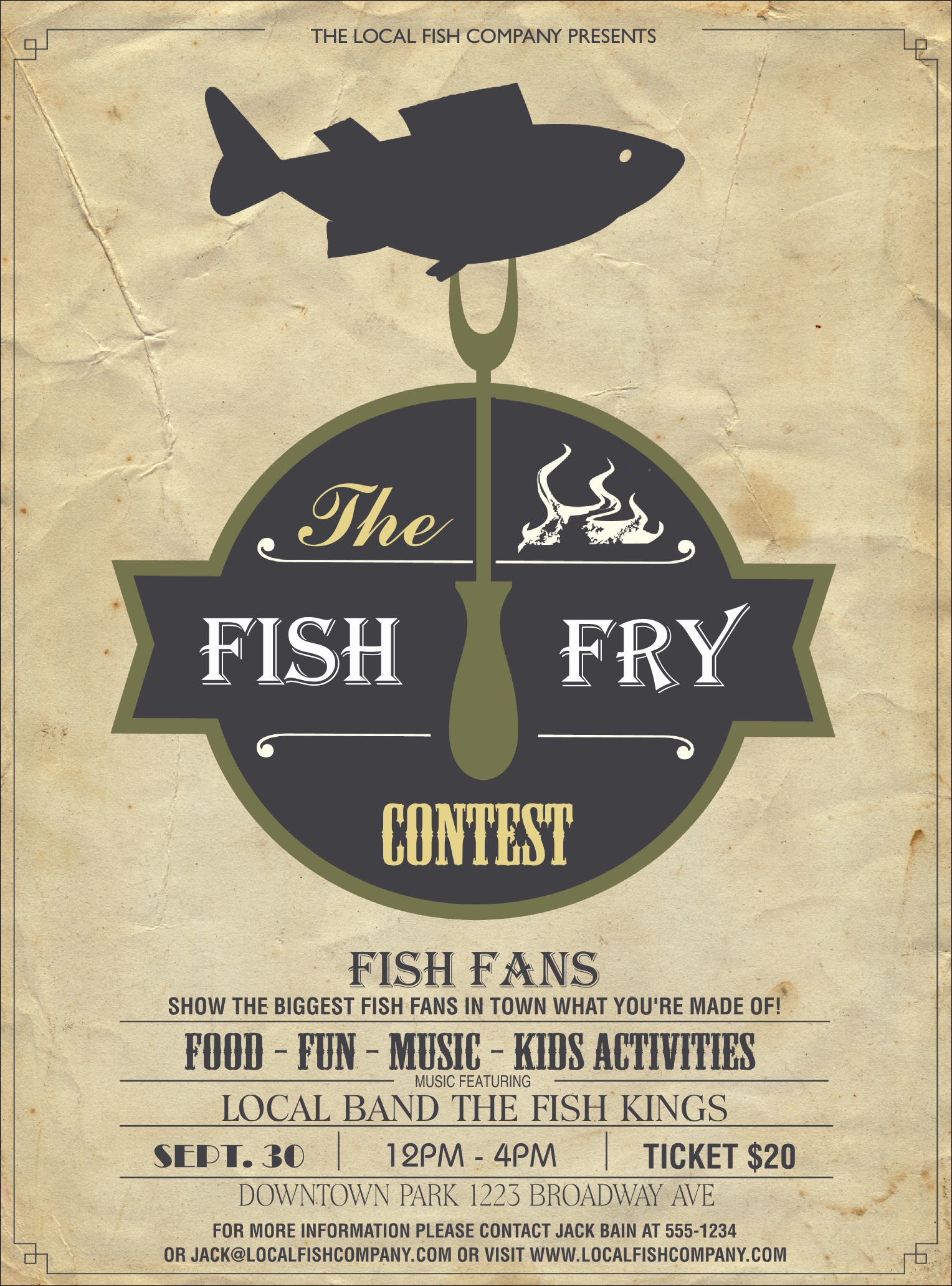 Fish Fry Flyer Template Beautiful Fish Fry Flyer