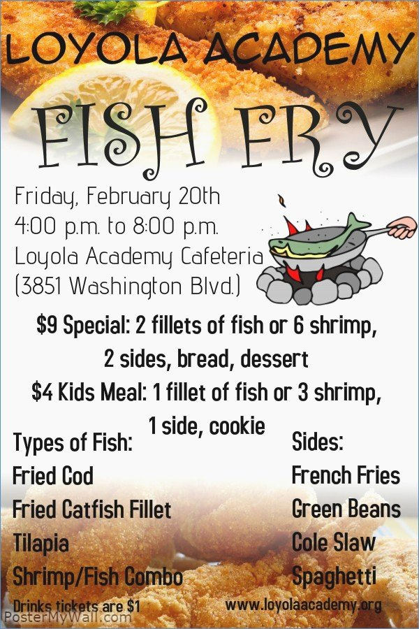 Fish Fry Flyer Template Beautiful Fish Fry Flyer Powerpoint Template – Harddancefo