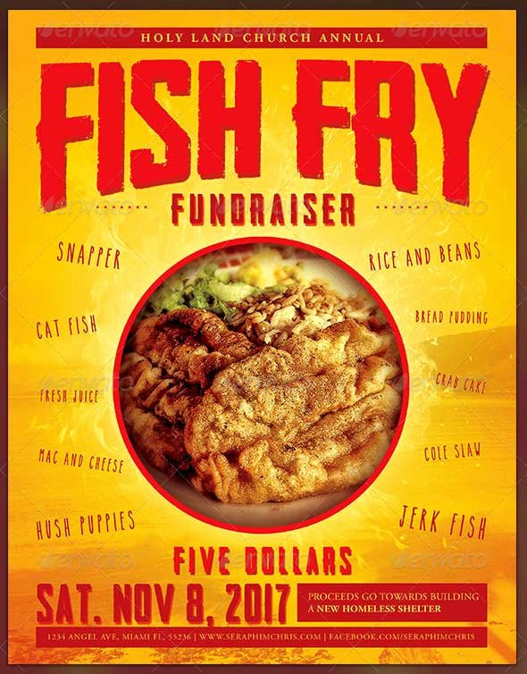 Fish Fry Flyer Template Inspirational 33 Best Free event Flyer Templates Psd Download