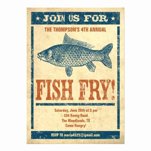 Fish Fry Flyer Template Inspirational Fish Fry Flyer Powerpoint Template I and Marketing P