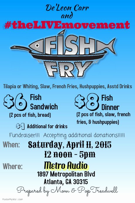 Fish Fry Flyer Template New Fish Fry Fundraiser Template