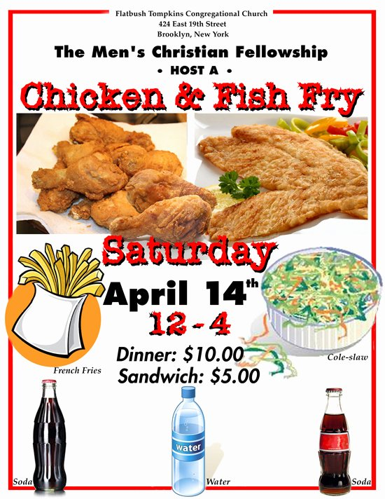 Fish Fry Flyer Template Unique 10 Best S Of Fried Flyers Chicken Dinners Chicken