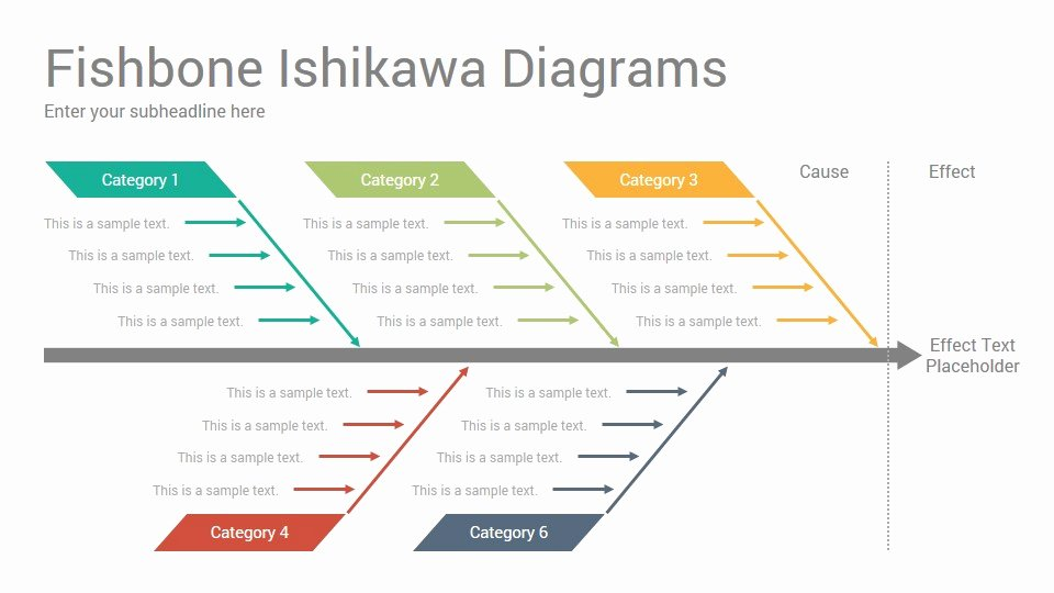 Fishbone Diagram Template Powerpoint Best Of Fishbone ishikawa Diagrams Powerpoint Template Designs