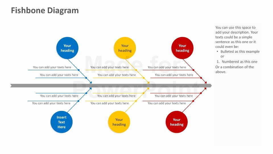 Fishbone Diagram Template Powerpoint Luxury Fishbone Diagram Powerpoint Template