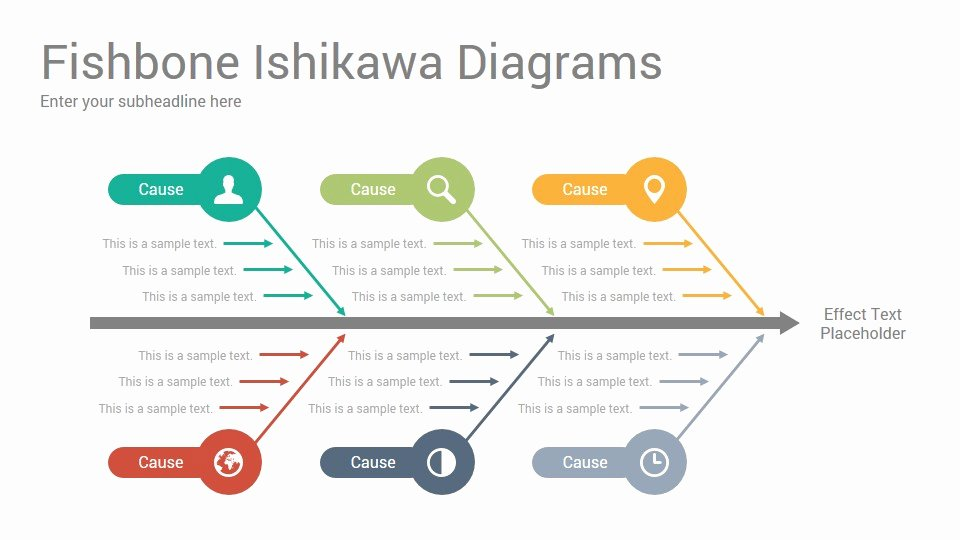 Fishbone Diagram Template Powerpoint Unique ishikawa Powerpoint Template ishikawa Powerpoint Template