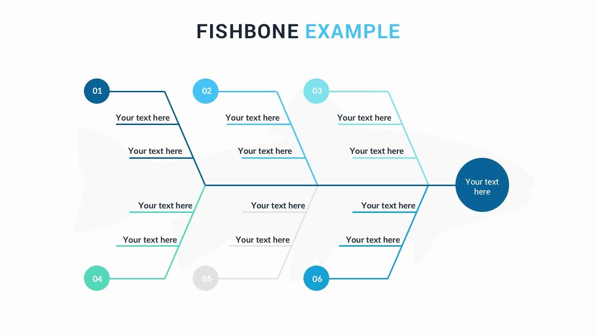 Fishbone Diagram Template Ppt Inspirational Fishbone Diagram Powerpoint Template Free Ppt