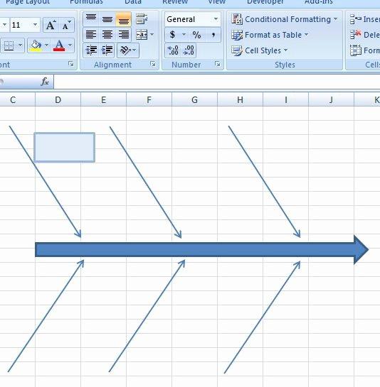Fishbone Diagram Template Xls Beautiful 15 Authorized Fishbone Diagram Templates Powerpoint