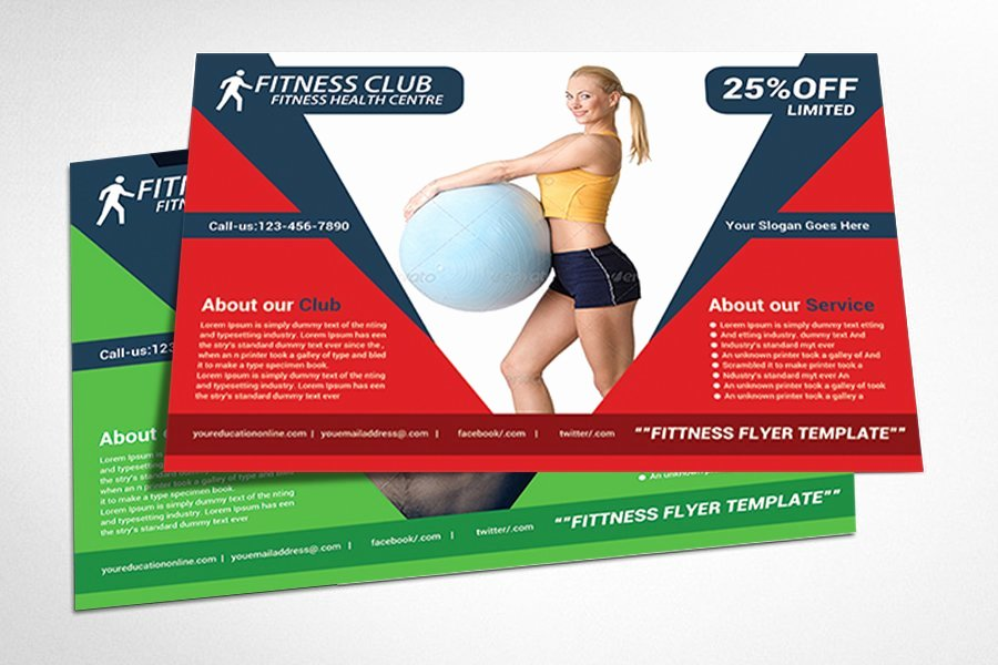 Fitness Flyer Template Free Beautiful Fitness Flyer Gym Flyer Templates Flyer Templates
