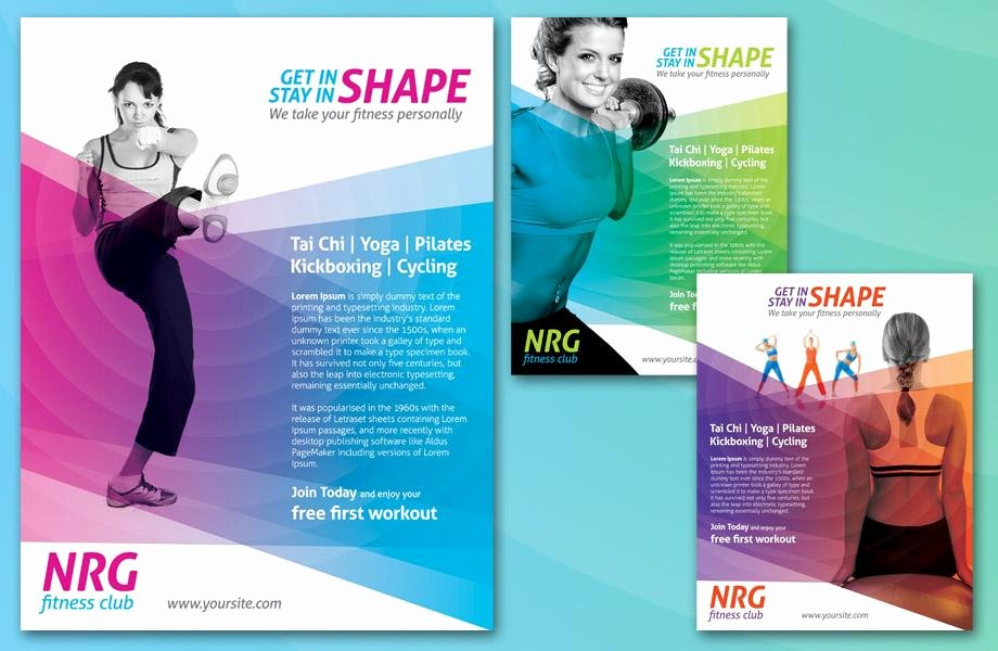 Fitness Flyer Template Free Fresh Fitness Flyers Fitness Flyer Templates and Printing