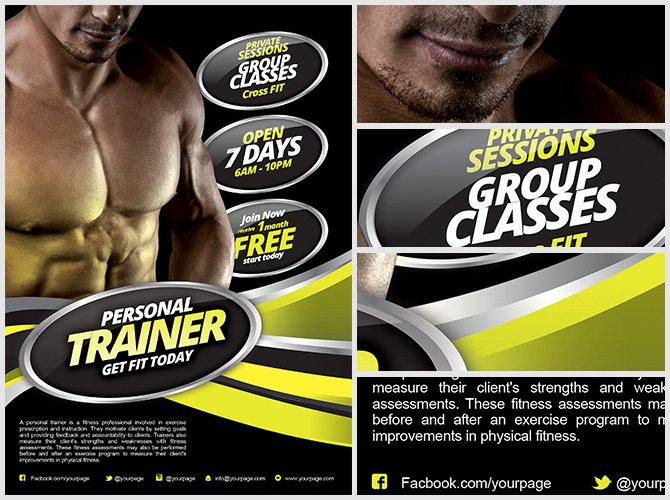 Fitness Flyer Template Free Fresh Personal Fitness Flyer Template Flyerheroes