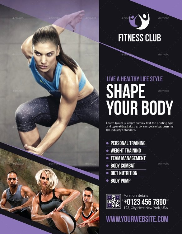 Fitness Flyer Template Free New Fitness Flyer Template Invitation Template