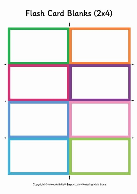 Flash Card Template Word Elegant Awesome for Vocabulary Memorization for the Little Ones