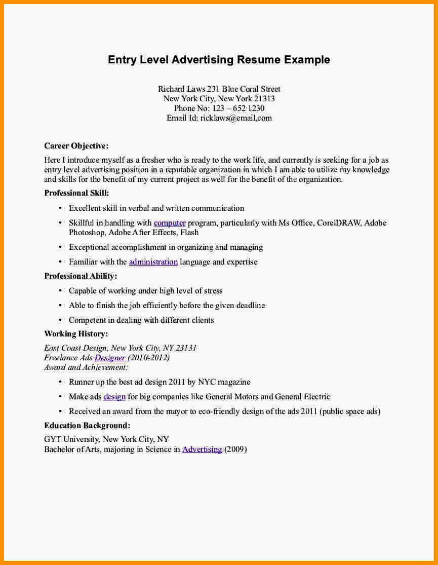 Flight attendant Resume Template Awesome Entry Level Flight attendant Resume