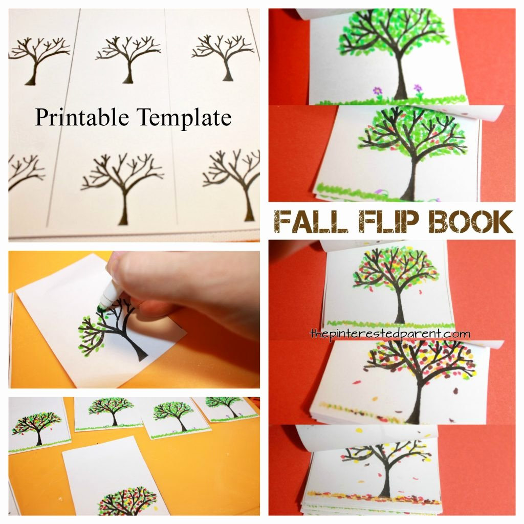 Flip Book Template Printable Fresh Fall Tree Flip Book – the Pinterested Parent