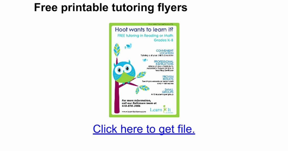 Flyer Template Google Docs Fresh Tear F Flyer Template Google Docs Inspirational the 25